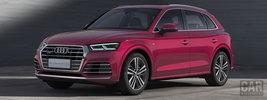 Audi Q5L 45 TFSI quattro S line China-spec - 2018