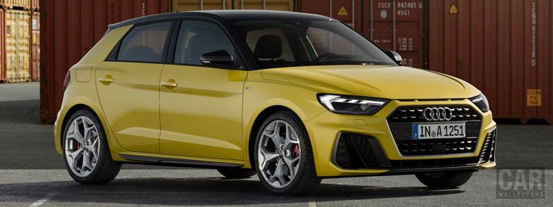 Обои автомобили Audi A1 Sportback 40 TFSI S line - 2018 - Car wallpapers