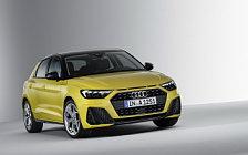 Обои автомобили Audi A1 Sportback 40 TFSI S line - 2018