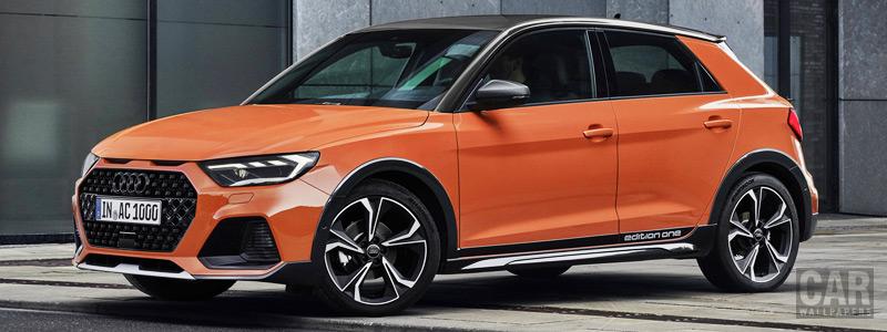 Обои автомобили Audi A1 citycarver edition one - 2019 - Car wallpapers