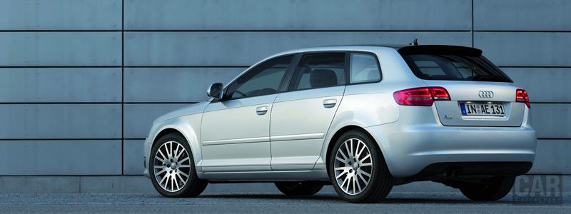 Обои автомобили Audi A3 Sportback - 2008 - Car wallpapers