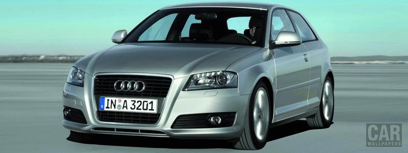 Обои автомобили Audi A3 - 2008 - Car wallpapers