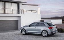 Обои автомобили Audi A3 2.0 TDI quattro S-line - 2016