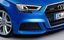 Обои автомобили Audi A3 Sedan 2.0 TDI quattro S-line - 2016