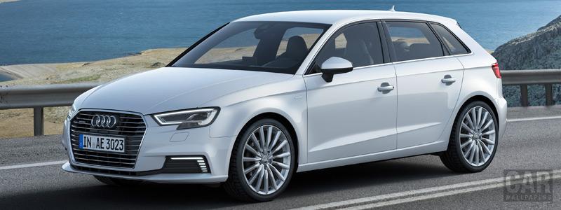 Обои автомобили Audi A3 Sportback e-tron - 2016 - Car wallpapers