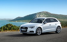 Обои автомобили Audi A3 Sportback g-tron - 2016