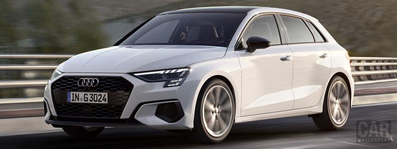 Обои автомобили Audi A3 Sportback 30 g-tron - 2020 - Car wallpapers
