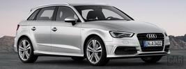 Audi A3 Sportback 2.0 TDI S-Line - 2012