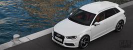 Audi A3 Sportback 2.0 TDI S-Line quattro - 2012