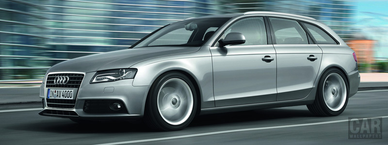 Обои автомобили Audi A4 Avant - 2008 - Car wallpapers