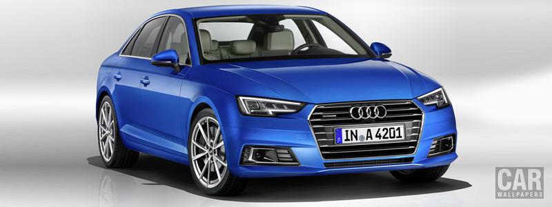 Обои автомобили Audi A4 2.0 TFSI quattro - 2015 - Car wallpapers