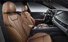 Обои автомобили Audi A4 Avant S line quattro - 2018