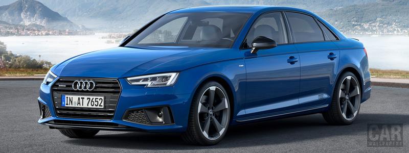 Обои автомобили Audi A4 S line quattro - 2018 - Car wallpapers