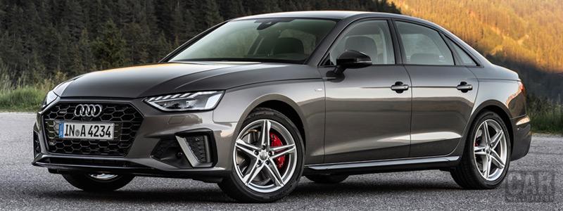 Обои автомобили Audi A4 45 TFSI quattro S line - 2019 - Car wallpapers