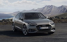 Обои автомобили Audi A4 45 TFSI quattro - 2019