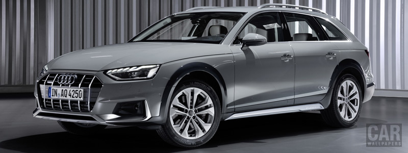 Обои автомобили Audi A4 allroad quattro - 2019 - Car wallpapers