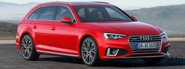 Audi A4 Avant S line competition - 2018