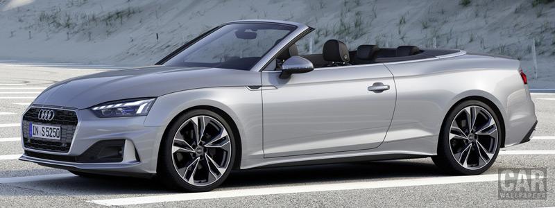 Обои автомобили Audi A5 Cabriolet 40 TFSI - 2019 - Car wallpapers