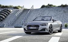 Обои автомобили Audi A5 Cabriolet 40 TFSI - 2019