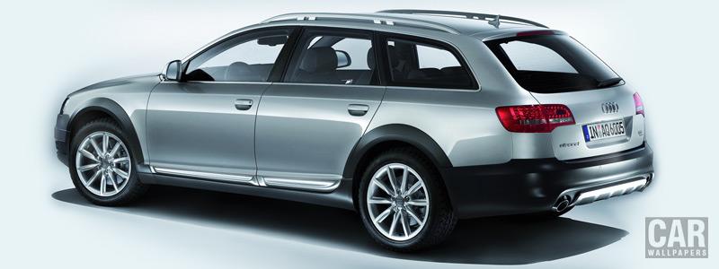 Обои автомобили Audi A6 Allroad Quattro - 2008 - Car wallpapers