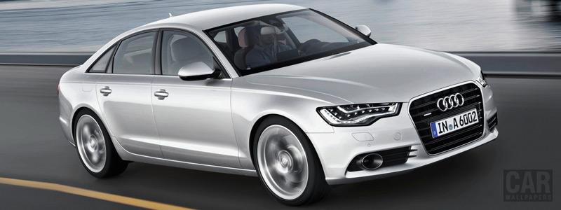 Обои автомобили Audi A6 3.0 TDI quattro - 2011 - Car wallpapers