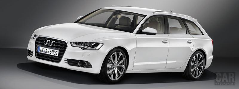 Обои автомобили Audi A6 Avant 3.0 TDI - 2011 - Car wallpapers