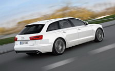 Обои автомобили Audi A6 Avant 3.0 TDI - 2011