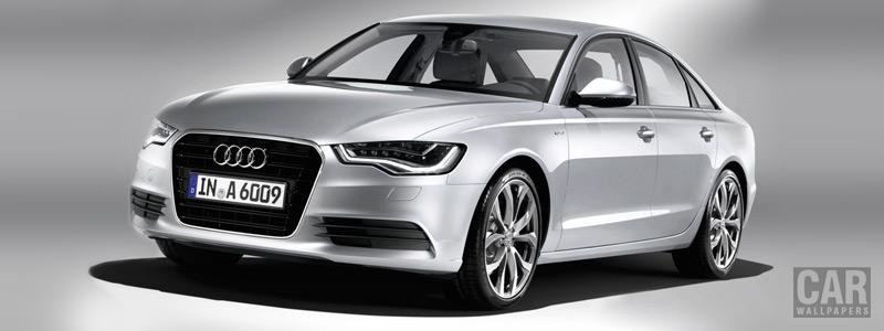 Обои автомобили Audi A6 Hybrid - 2011 - Car wallpapers