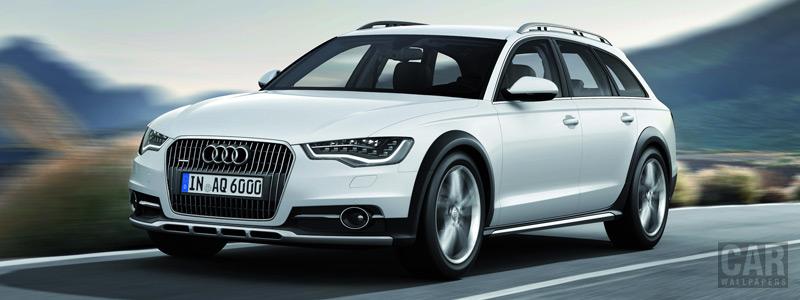 Обои автомобили Audi A6 allroad quattro - 2012 - Car wallpapers