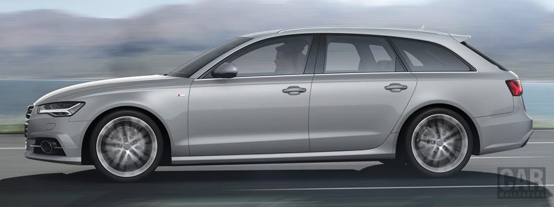 Обои автомобили Audi A6 Avant 2.0 TDI S-line - 2014 - Car wallpapers
