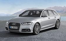 Обои автомобили Audi A6 Avant 2.0 TDI S-line - 2014