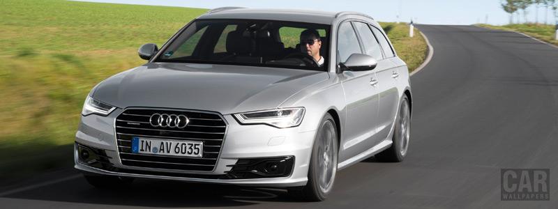 Обои автомобили Audi A6 Avant 2.0 TDI - 2014 - Car wallpapers