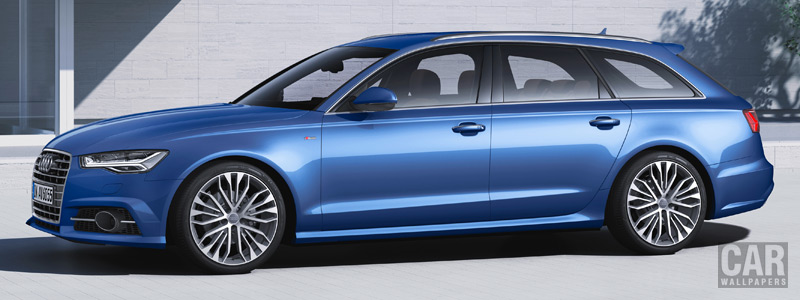 Обои автомобили Audi A6 Avant TDI ultra S-line - 2014 - Car wallpapers