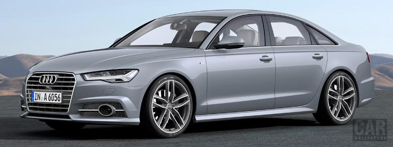 Обои автомобили Audi A6 TFSI ultra S-line - 2014 - Car wallpapers
