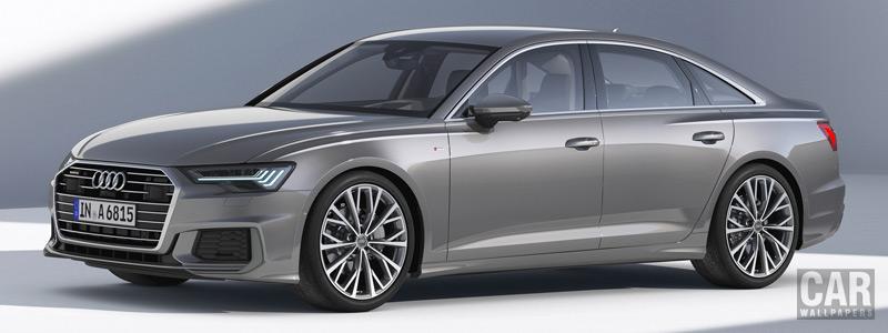 Обои автомобили Audi A6 50 TDI quattro S line - 2018 - Car wallpapers