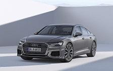 Обои автомобили Audi A6 50 TDI quattro S line - 2018