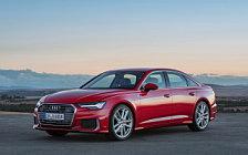 Обои автомобили Audi A6 55 TFSI quattro S line - 2018