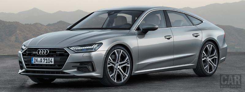 Обои автомобили Audi A7 Sportback quattro - 2018 - Car wallpapers