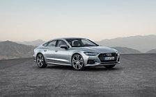 Обои автомобили Audi A7 Sportback quattro - 2018
