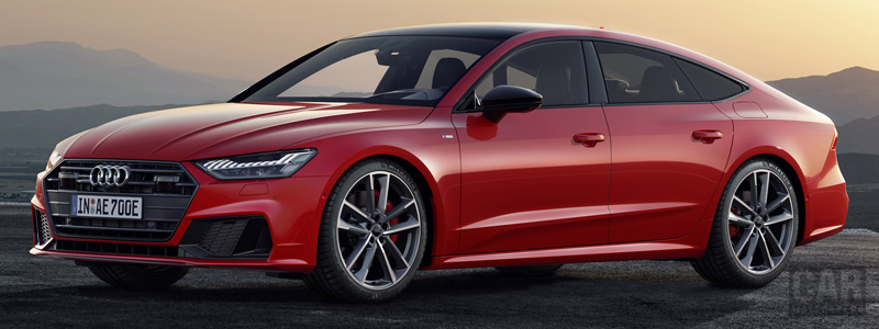 Обои автомобили Audi A7 Sportback 55 TFSI e quattro S line - 2019 - Car wallpapers