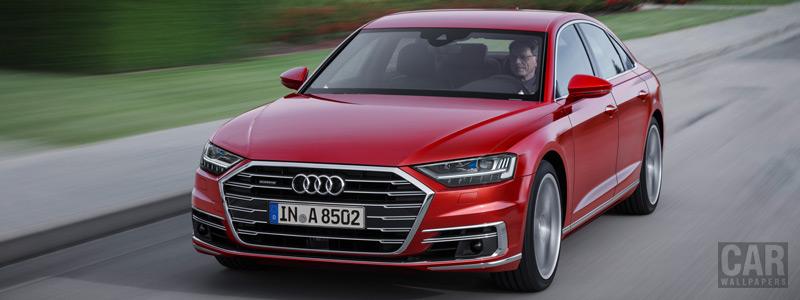 Обои автомобили Audi A8 3.0 TDI quattro - 2017 - Car wallpapers