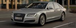Audi A8 hybrid - 2012