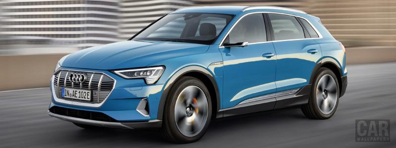 Обои автомобили Audi e-tron - 2019 - Car wallpapers