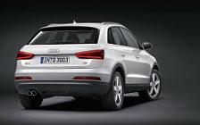 Обои автомобили Audi Q3 2.0 TFSI - 2011