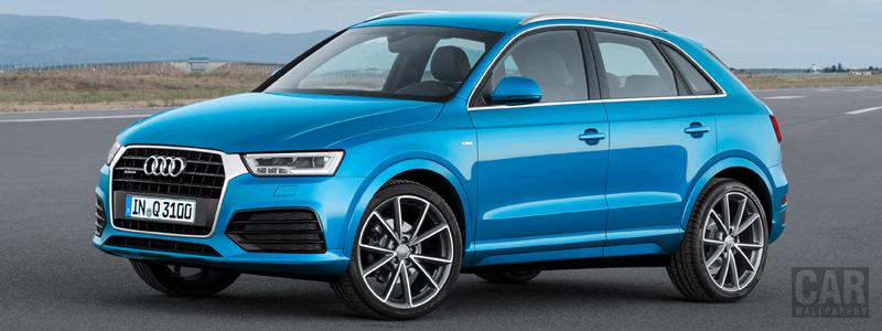 Обои автомобили Audi Q3 2.0 TDI quattro S-line - 2015 - Car wallpapers