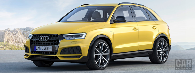 Обои автомобили Audi Q3 2.0 TFSI quattro S line competition - 2016 - Car wallpapers
