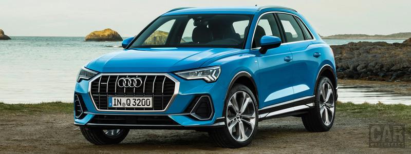Обои автомобили Audi Q3 quattro S line - 2018 - Car wallpapers