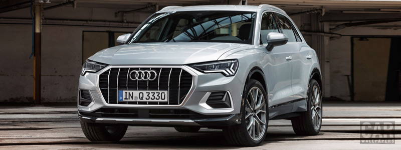 Обои автомобили Audi Q3 - 2018 - Car wallpapers