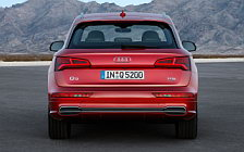 Обои автомобили Audi Q5 TFSI quattro S line - 2016