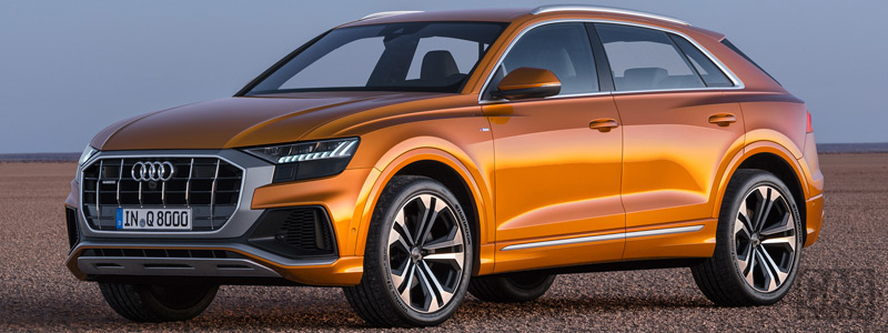 Обои автомобили Audi Q8 50 TDI quattro S line - 2018 - Car wallpapers